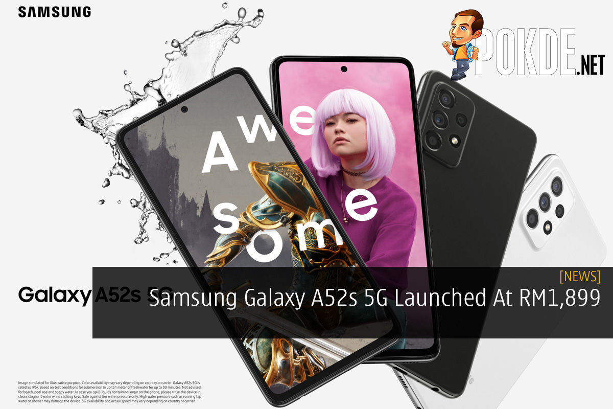 Samsung Galaxy A52s 5G Launched At RM1,899 7