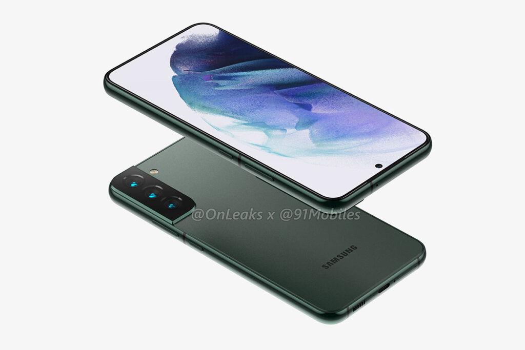 Samsung Galaxy S22 Plus olive green