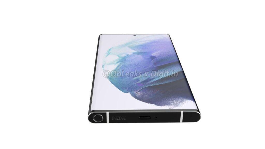 Samsung Galaxy S22 Ultra S Pen stowage (1)