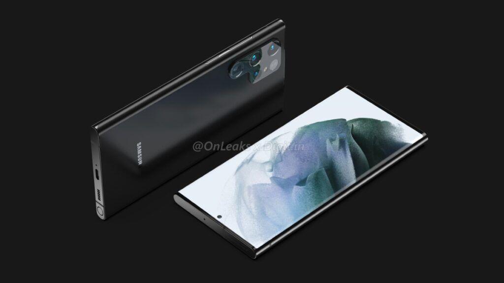 Samsung Galaxy S22 Ultra design