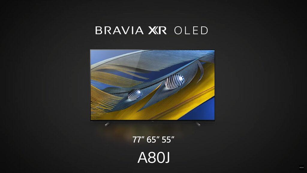 Sony BRAVIA XR A80J TV