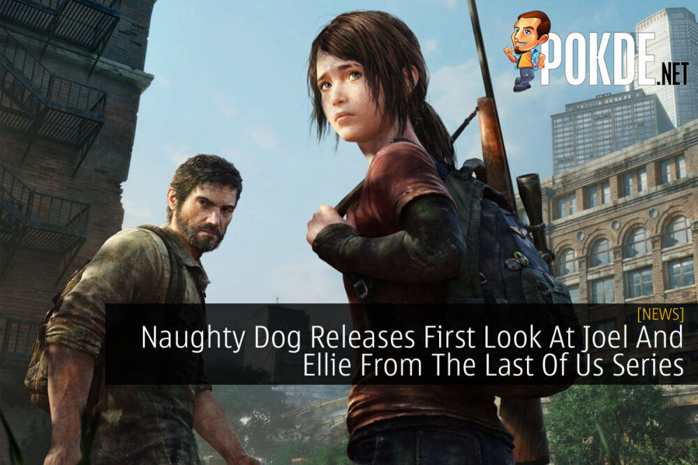 The Last of Us TV Series Joel and Ellie cover