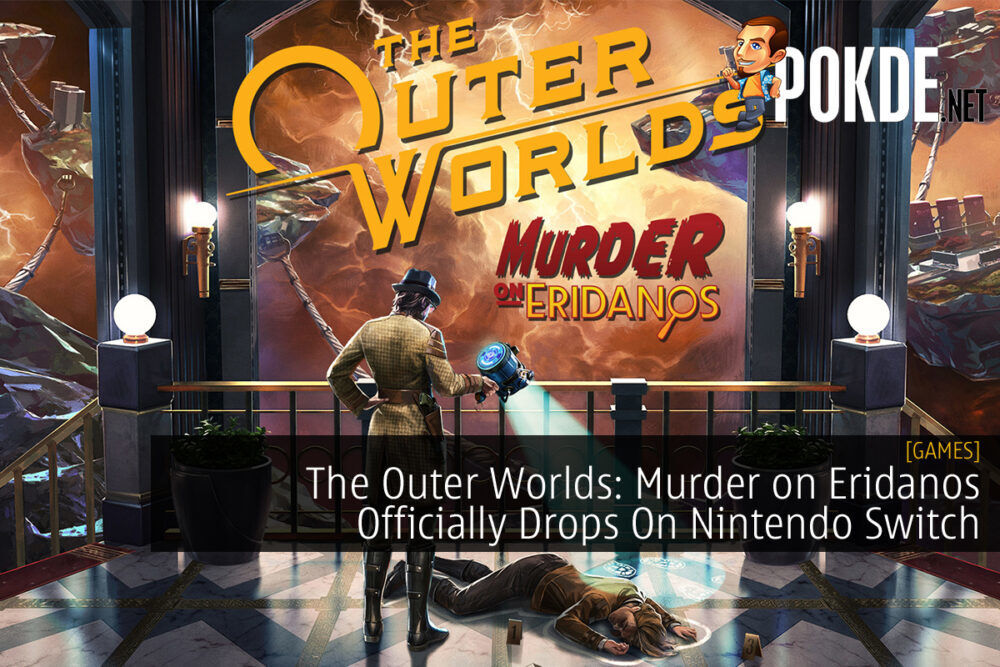 The Outer Worlds Murder on Eridanos cover