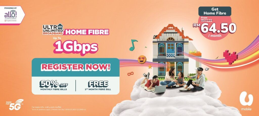 U Mobile Collabs With Allo To Expands Its High Speed Fibre Broadband Coverage 22