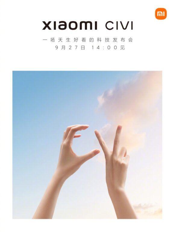 Xiaomi Civi launch teaser (1)
