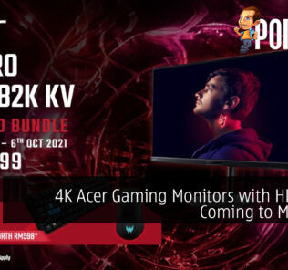 4K Acer Gaming Monitors with HDMI 2.1 Coming to Malaysia