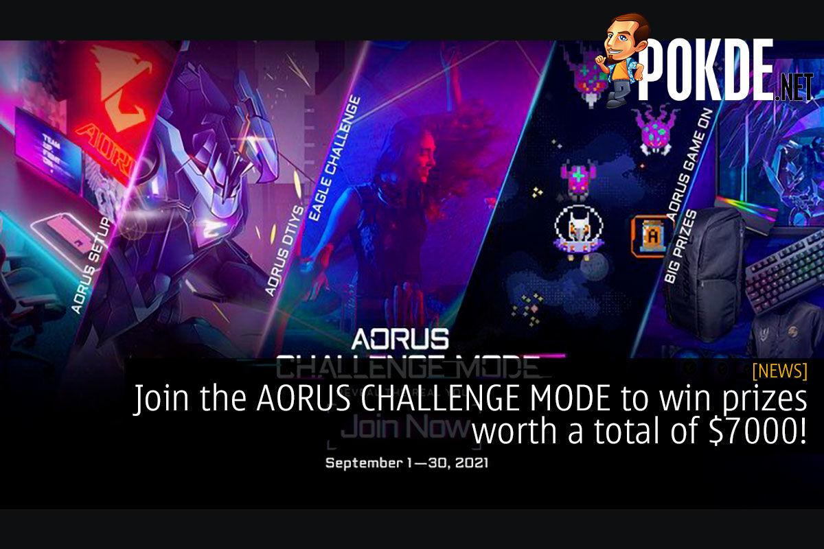 aorus challenge mode cover