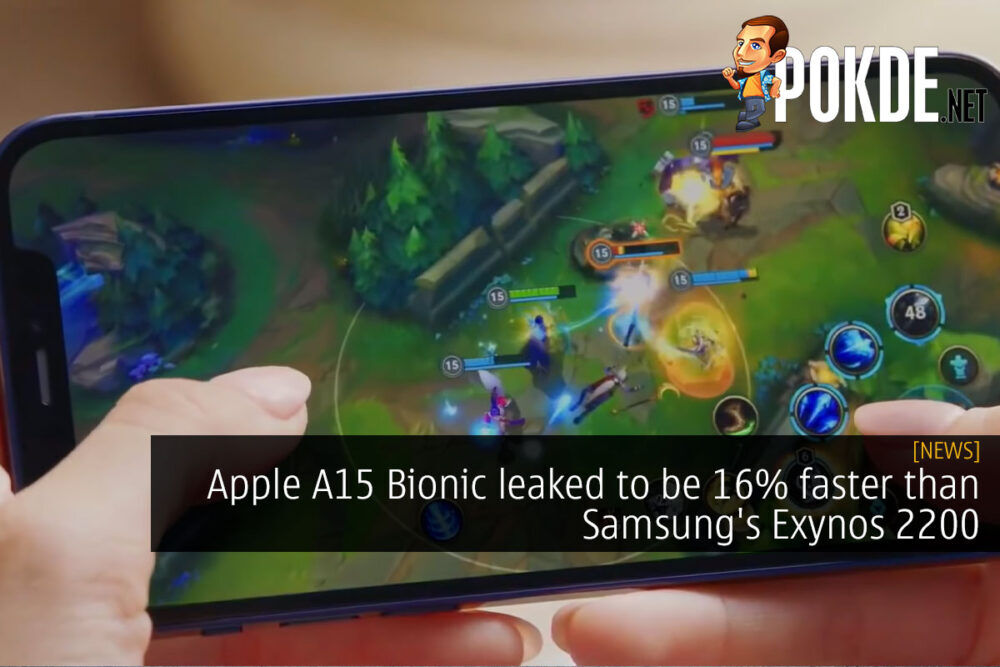 apple a15 bionic faster exynos 2200 cover