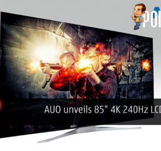 auo 85 inch 4K 240hz lcd panel cover