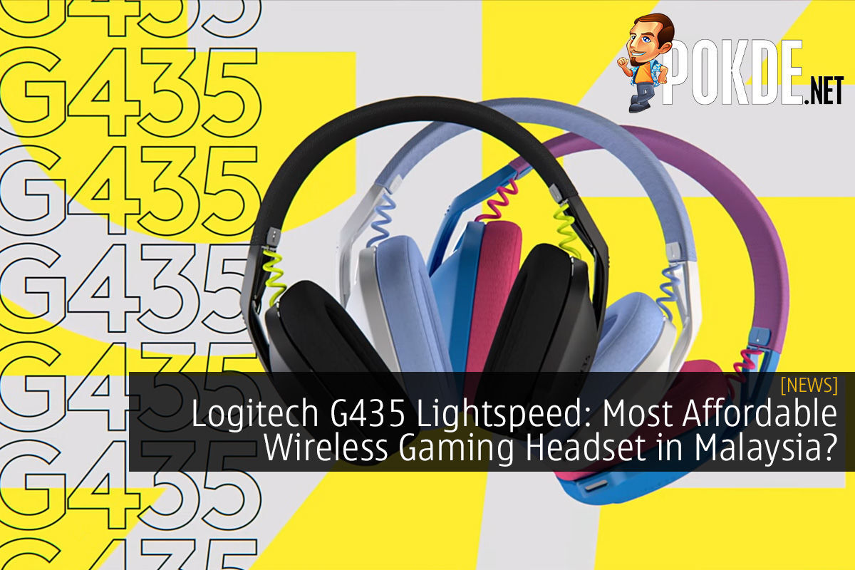 Logitech G435 Lightspeed: Most Affordable Wireless Gaming Headset in Malaysia?