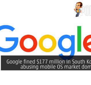 Google fined $177 million in South Korea for abusing mobile OS market dominance 24