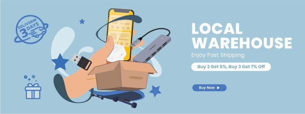 ugreen sales 9.9 shopping festival