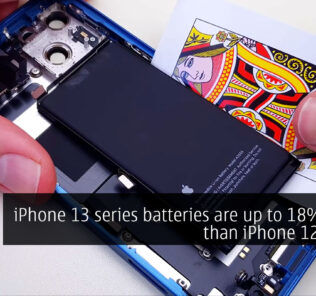 iPhone 13 series batteries are up to 18% larger than iPhone 12 series' 28