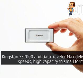 kingston xs2000 kingston datatraveler max cover