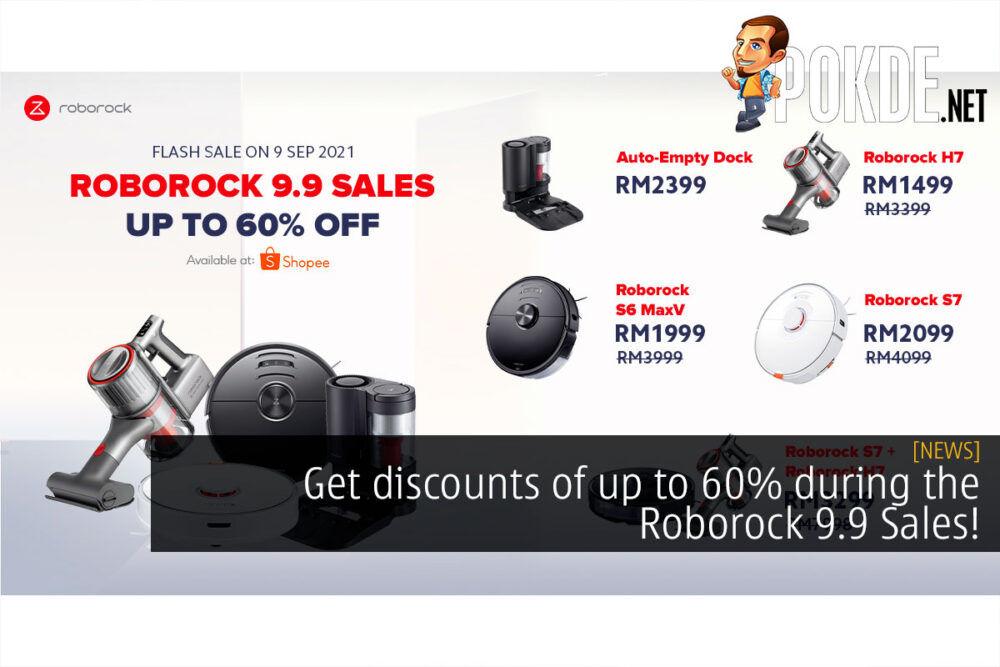 roborock 9.9 sale 60% off cover