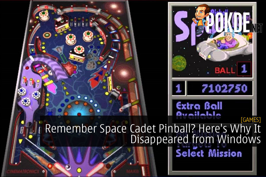 Remember Space Cadet Pinball? Here's Why It Disappeared from Windows