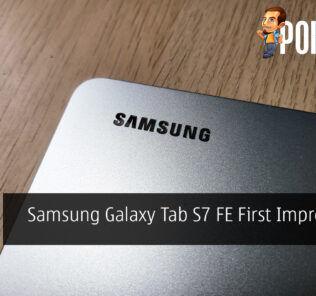 Samsung Galaxy Tab S7 FE First Impressions