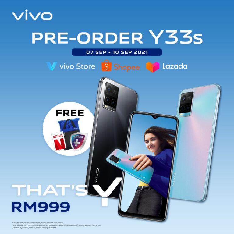 vivo Y33s Malaysia