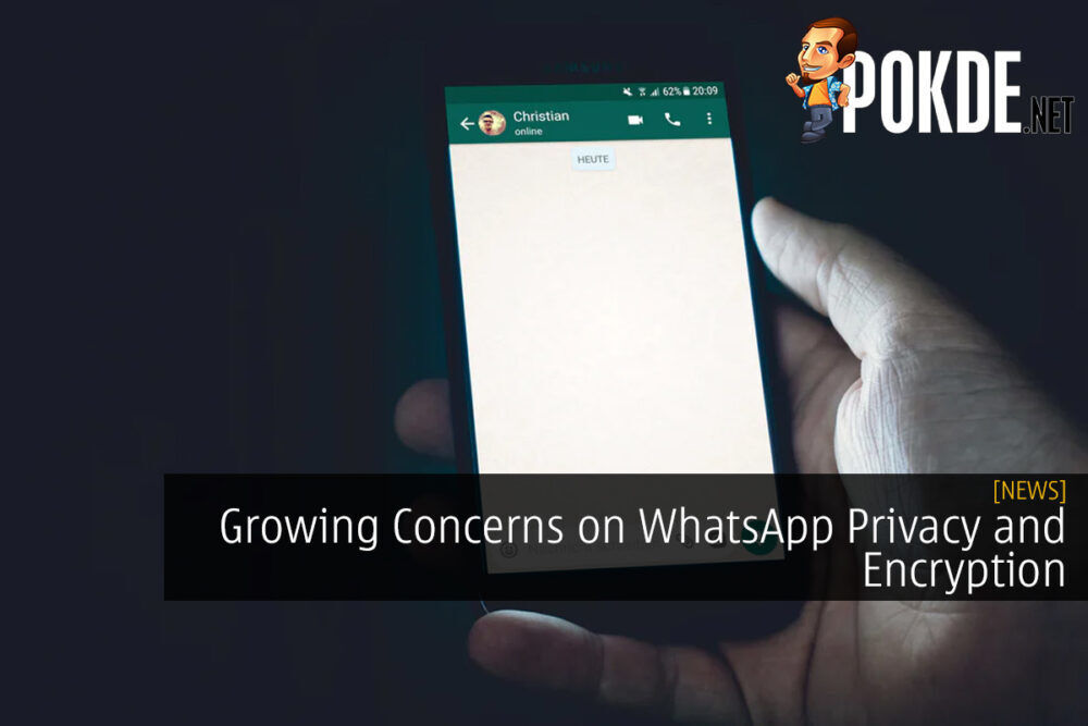 Growing Concerns on WhatsApp Privacy and Encryption After Investigation