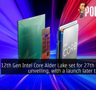 12th gen intel core alder lake launch cover