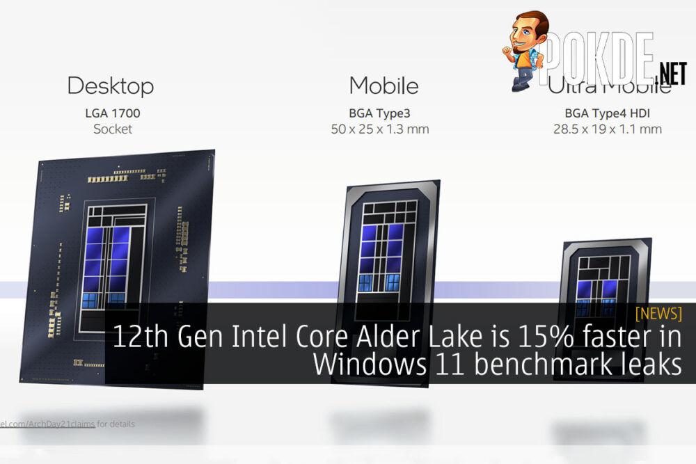 12th gen intel core alder lake windows 11 cover