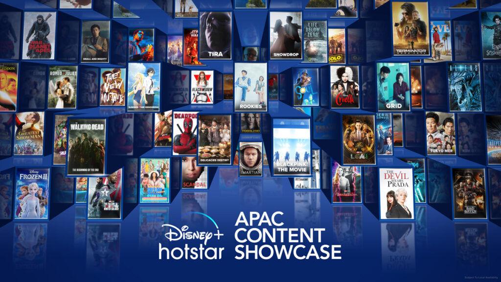 Disney+ Hotstar new shows