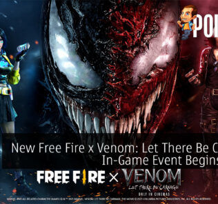 Free Fire x Venom Let There Be Carnage cover