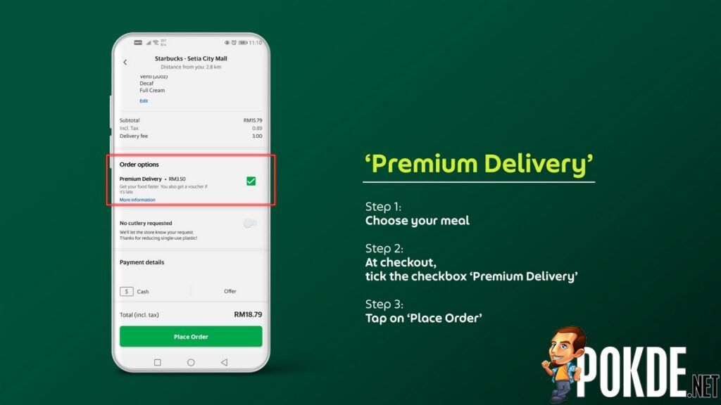 GrabFood Now Offering Delivery Fees For As Low As RM1 With Their New Features 28