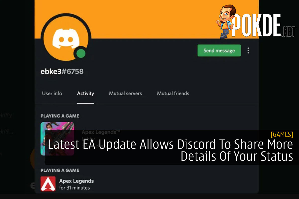 Latest EA Update Allows Discord To Share More Details Of Your Status 12