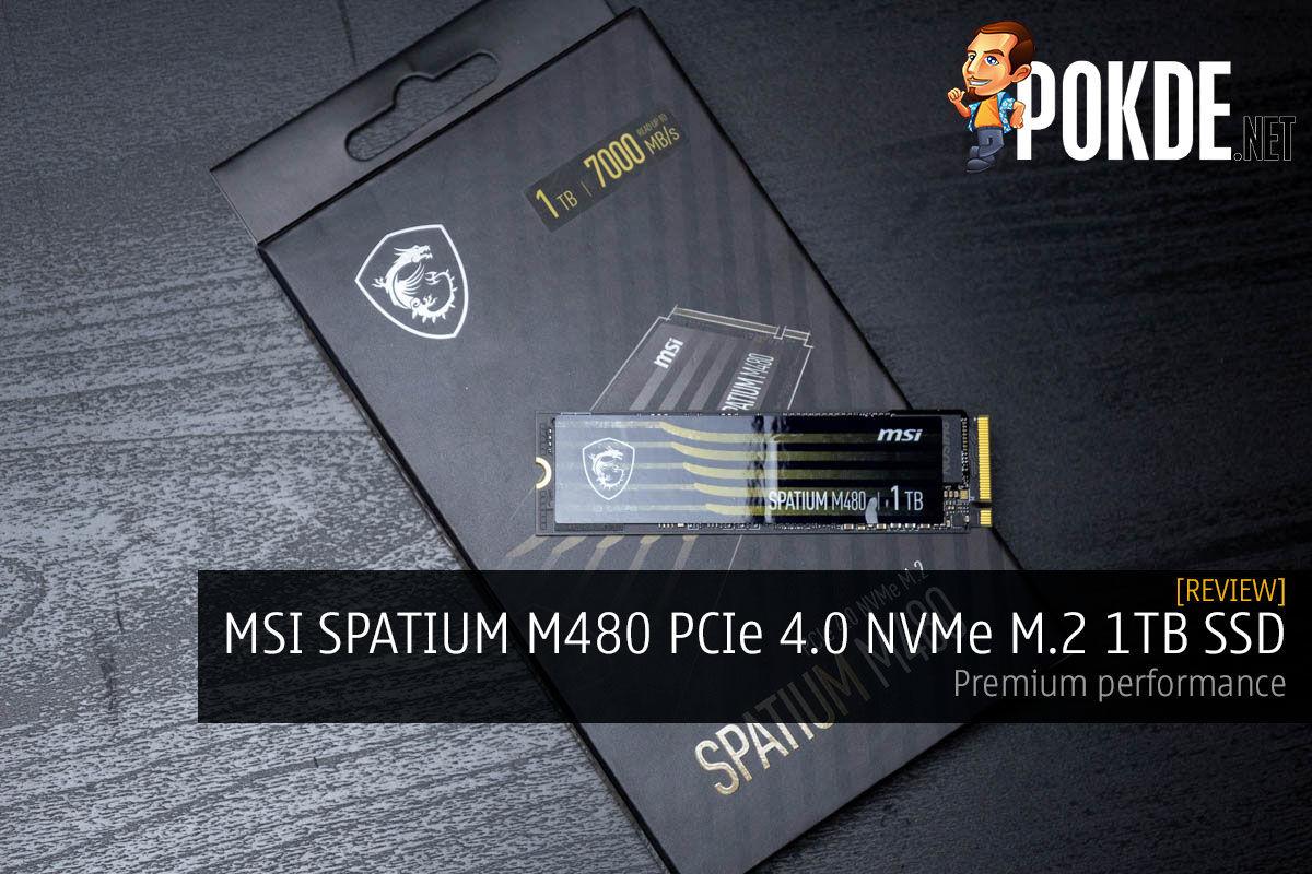 MSI Spatium m480 review cover