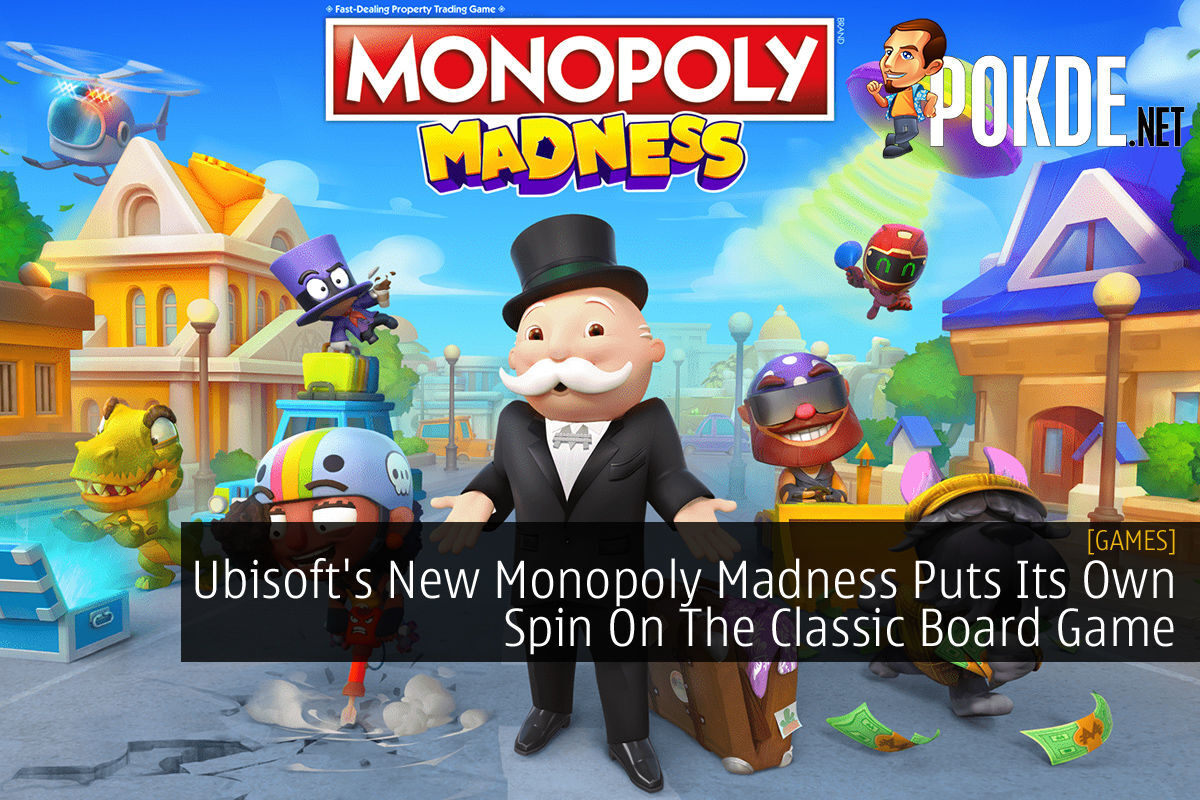 Monopoly Madness cover