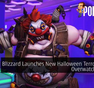 Overwatch Halloween Terror 2021 cover