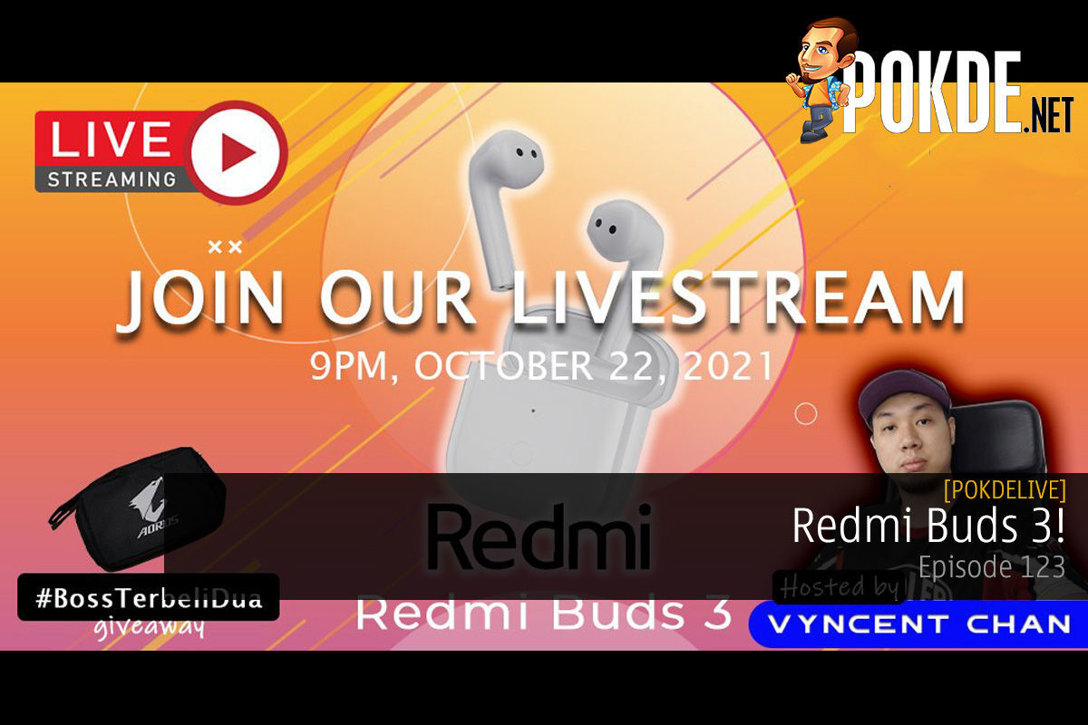 PokdeLIVE 123 — Redmi Buds 3! 13