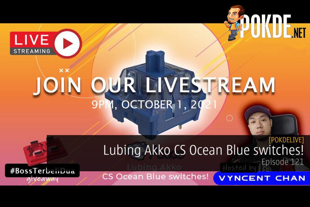 PokdeLIVE 121 — Lubing Akko CS Ocean Blue Switches! 27