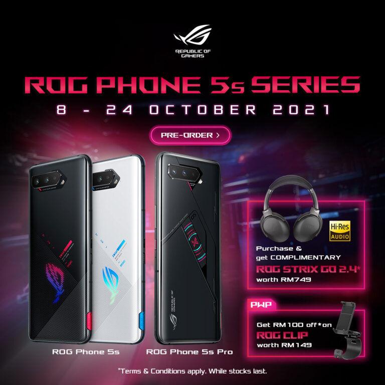 Pre-order ROG Phone 5s