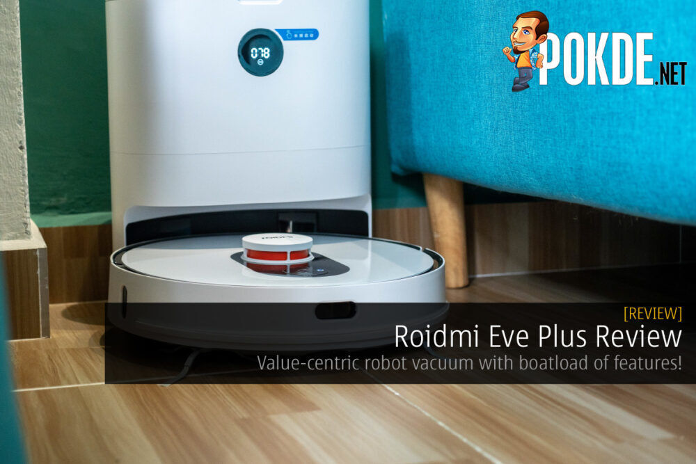 Roidmi Eve Plus Review - Value-centric robot vacuum with boatload of features! 27