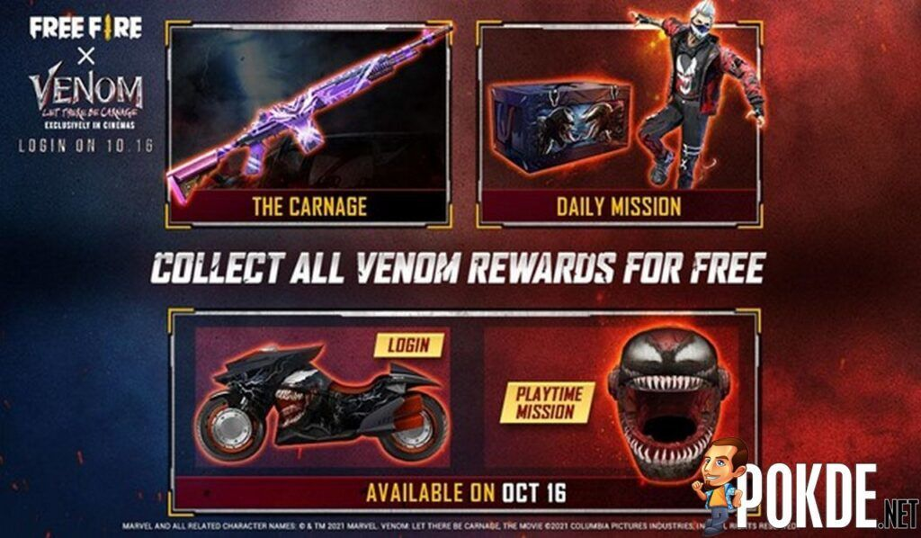 New Free Fire x Venom: Let There Be Carnage In-Game Event Begins Today 28