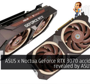 ASUS x Noctua GeForce RTX 3070 accidentally revealed by ASUS staff? 20
