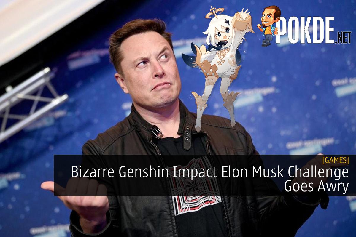 Bizarre Genshin Impact Elon Musk Challenge Goes Awry