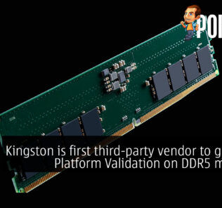 Kingston is first third-party vendor to get Intel Platform Validation on DDR5 memory 21