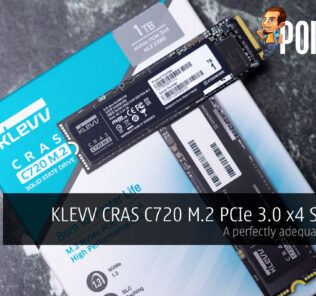 KLEVV CRAS C720 M.2 PCIe 3.0 x4 SSD 1TB Review — a perfectly adequate PCIe SSD 27
