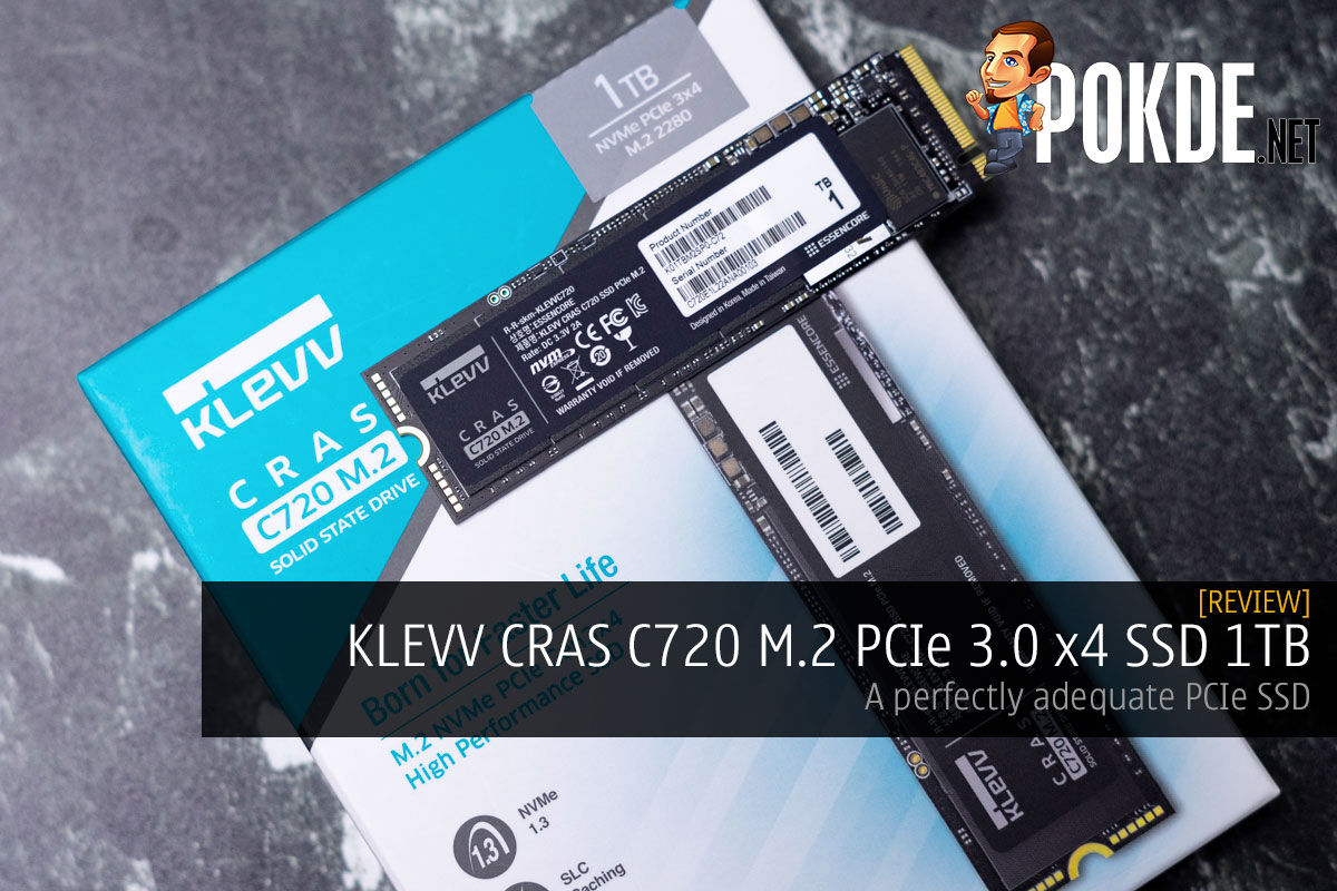 KLEVV CRAS C720 M.2 PCIe 3.0 x4 SSD 1TB Review — a perfectly adequate PCIe SSD 6