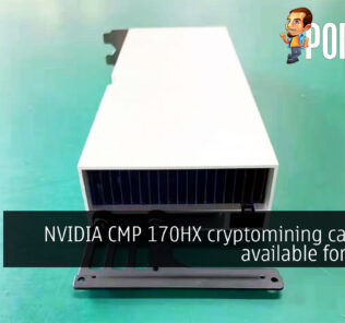 NVIDIA CMP 170HX cryptomining GPU is available for $4435 27