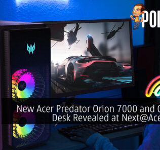 New Acer Predator Orion 7000 and Gaming Desk Revealed at Next@Acer 2021