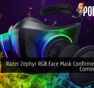 Razer Zephyr RGB Face Mask Confirmed to Be Coming Soon