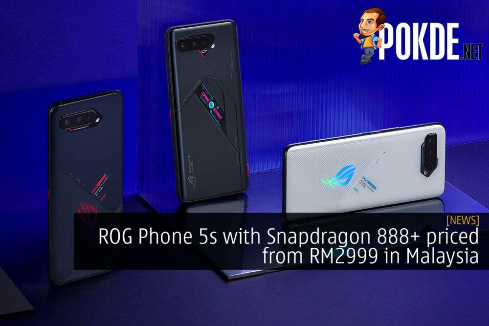 rog phone 5s snapdragon 888 plus malaysia cover