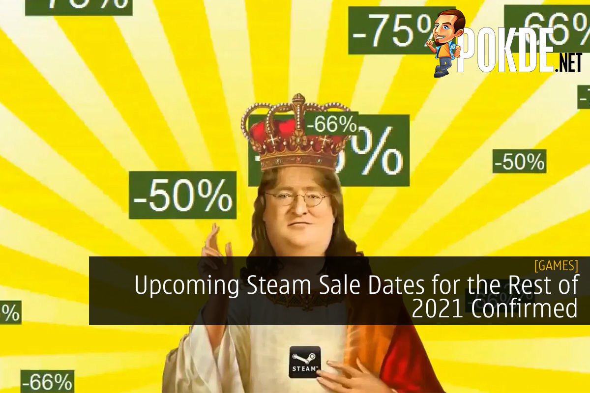 Upcoming Steam Sale Dates for the Rest of 2021 Confirmed