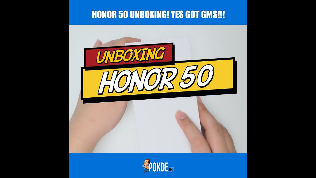 Unboxing the Honor 50 in 50 second (+10)!!! 22