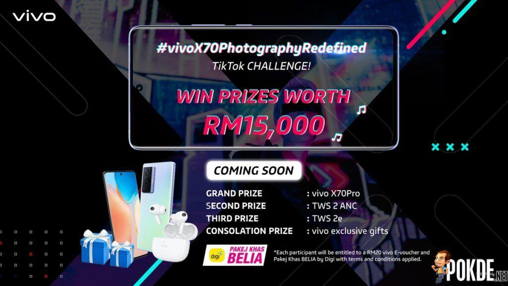 vivo And Digi Launches New #vivoX70PhotographyRedefined TikTok challenge 26